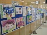 秋田空港絵画コンテスト応募作品の展示について